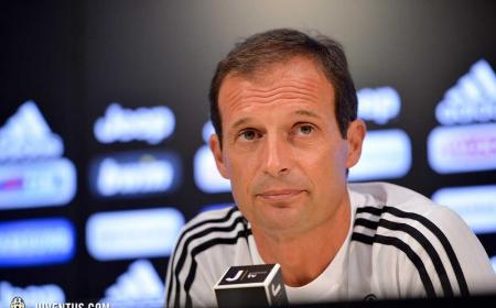 Allegri Ufficiale sito Juve 2016