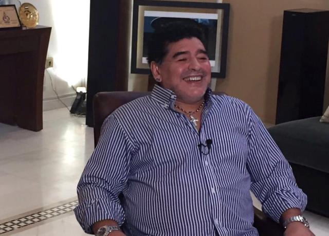 Maradona suo facebook