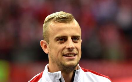 Fot. Piotr Blawicki / East News   Warszawa 14.10.2014   Eliminacje do EURO 2016 Polska vs Szkocja.  N/z: Kamil Grosicki