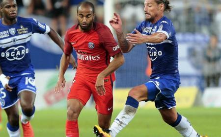 Lucas Moura PSG-Bastia rmcsportbfmtv com
