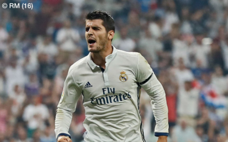 Morata Real Madrid Twitter