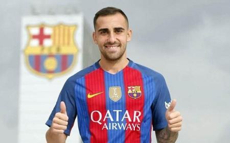 Paco Alcacer sito Barcellona