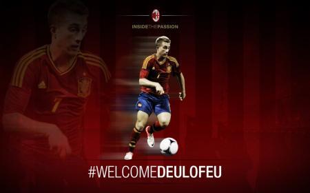 Deulofeu Milan Twitter
