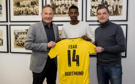 Isak Borussia Dortmund Twitter