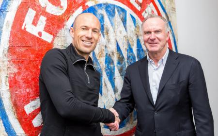 Robben rinnovo Bayern Monaco Twitter