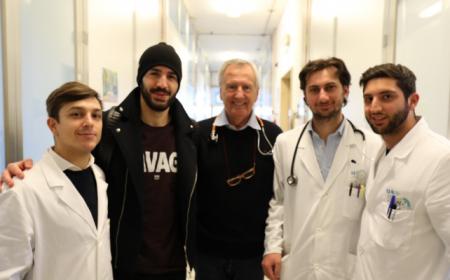 Saponara visite Fiorentina Twitter