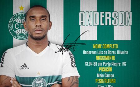Anderson Coritiba Twitter