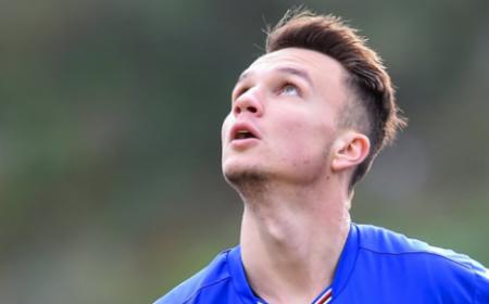 Baumgartner Sampdoria Twitter