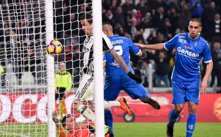 Mandzukic gol vs Empoli Juventus Twitter