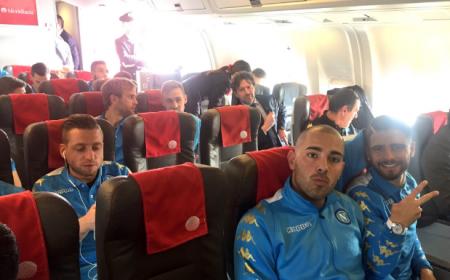 Napoli partenza Madrid Napoli Twitter