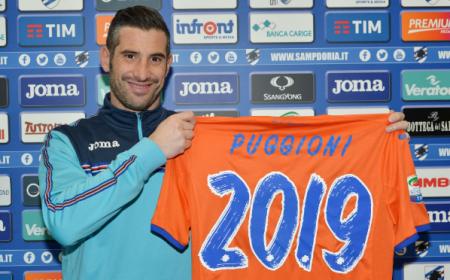 Puggioni rinnovo Sampdoria Twitter