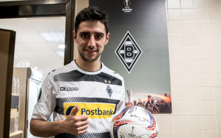 Stindl Borussia pallone tripletta Monch Twitter