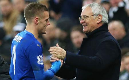 Vardy and Ranieri Daily Express