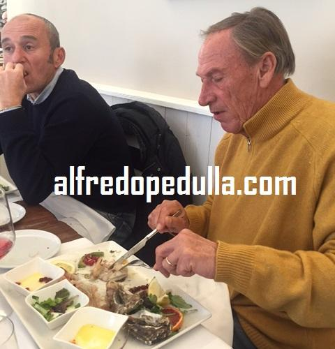 Zeman pranzo Pescara
