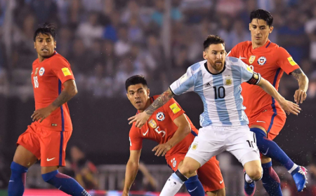 Messi vs Chile Twitter Argentina
