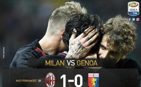 Milan Genoa Mati Fernandez