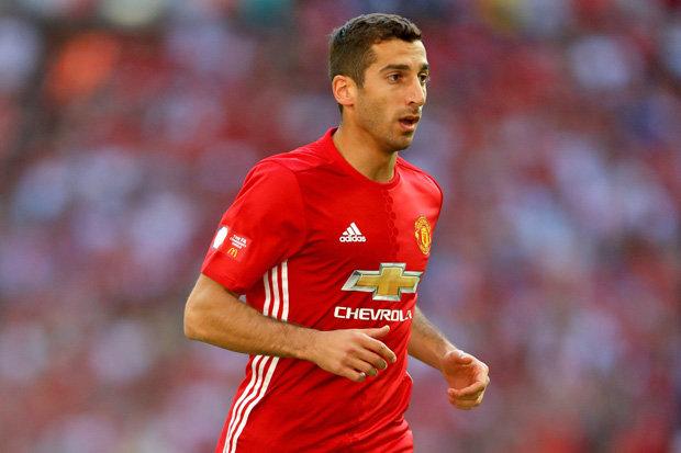 Mkhitaryan Manchester United Foto Daily Star