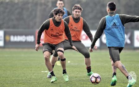 Montolivo training Milan Twitter
