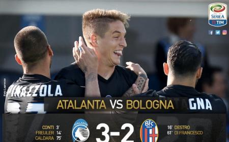 Atalanta Bologna 3-2