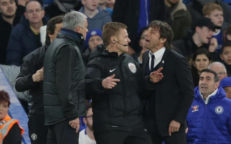 Conte e Mourinho Foto The Sun