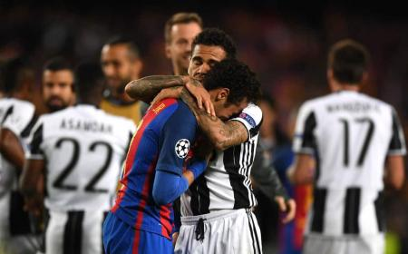 Dani Alves Neymar Barcellona Juventus Foto 101GreatGoals