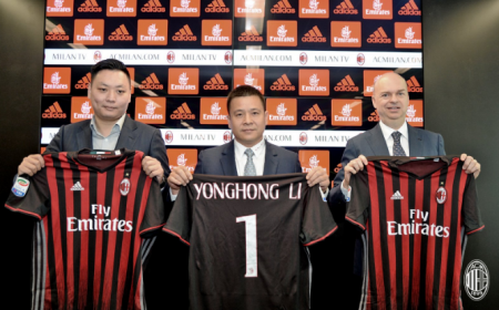 Fassone Yonghong Li Han Li Foto Twitter Milan