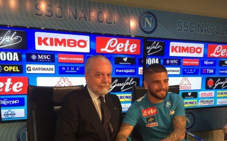 Insigne Twitter Napoli