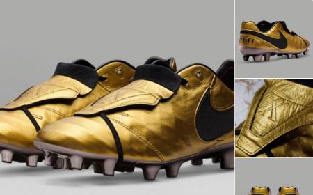 Totti scarpe 25 anni carriera Nike Foto: Squawka News