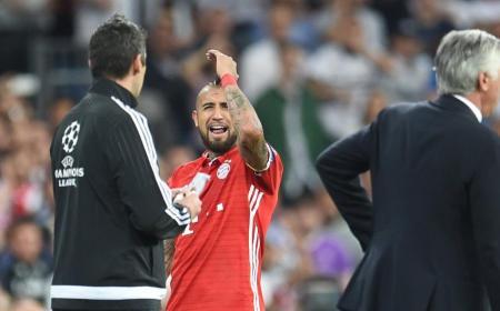 Vidal Real Bayern Foto: Bild