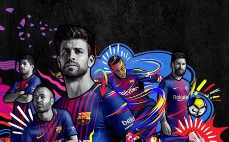 Barcellona nuova maglia Iniesta e co Twitter