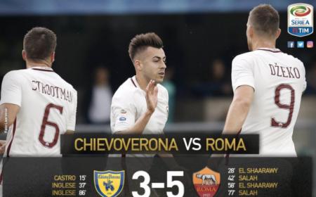 Chievo Roma 3-5