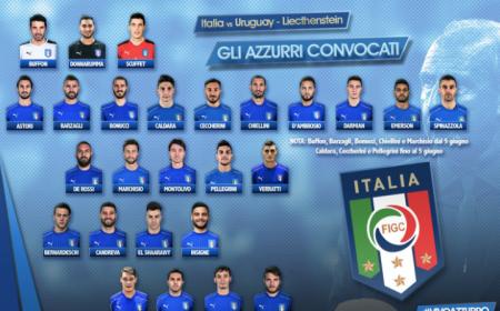 Italia convocati per Uruguay Vivo Azzurro