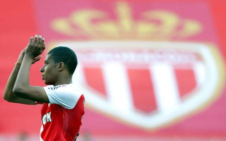 Mbappé Monaco Foto Marca