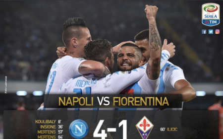 Napoli Fiorentina 4-1