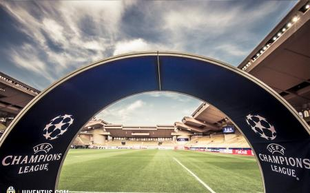 Stadio Monaco Twitter Juventus