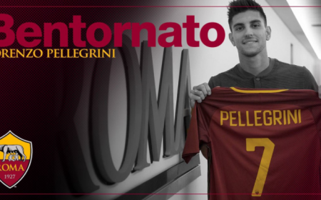 Pellegrini annuncio Roma Twitter