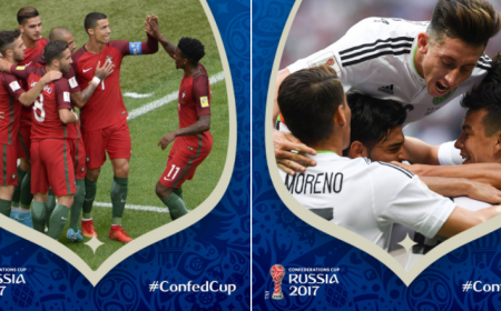 Portogallo e Messico semifinaliste Confederations Cup Twitter