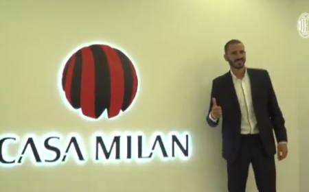 Bonucci Casa Milan Twitter