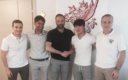 Choe Song Hyok annuncio Perugia Facebook