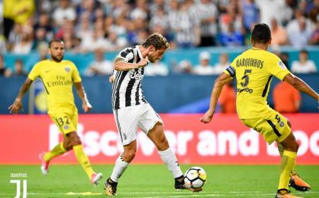 Marchisio gol vs Psg ICC Juventus Twitter