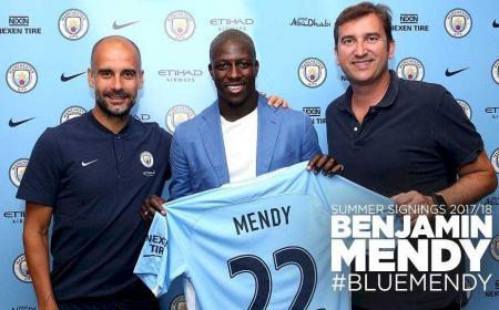 Mendy annuncio Manchester City