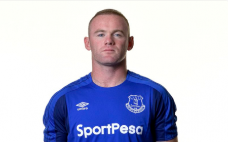 Rooney maglia Everton Rooney Twitter