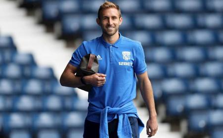 Craig Dawson of West Bromwich Albion arrives at the stadium