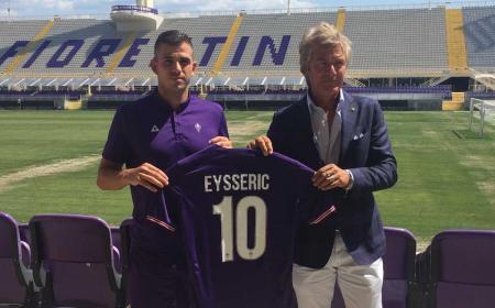 Eysseric presentazione Fiorentina Twitter