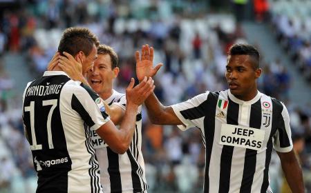 Mandzukic gol vs Cagliari Foto Juventus Twitter