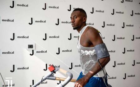 Matuidi visite Juventus Twitter