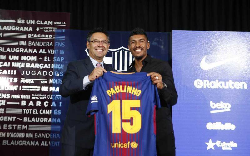 Presentazione Paulinho Barcellona