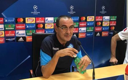 Sarri conferenza Champions Napoli Twitter