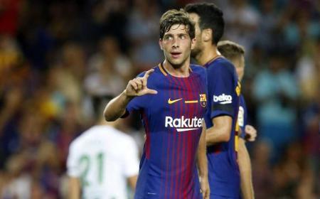 Sergi Roberto sito uff Barcellona