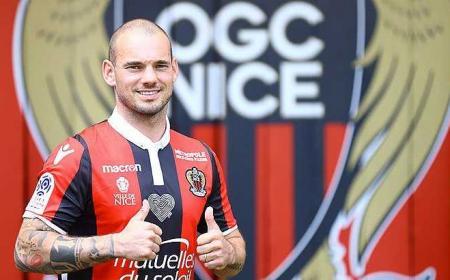 Sneijder Twitter Nizza